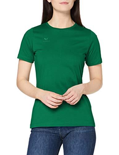 erima Damen T-Shirt Teamsport, smaragd, 42, 208374