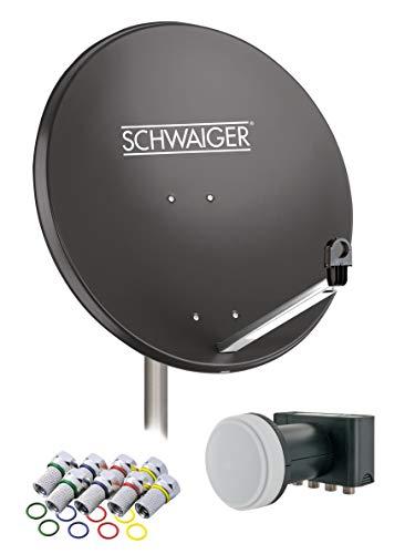 SCHWAIGER -517- Sat Anlage, Satellitenschüssel...