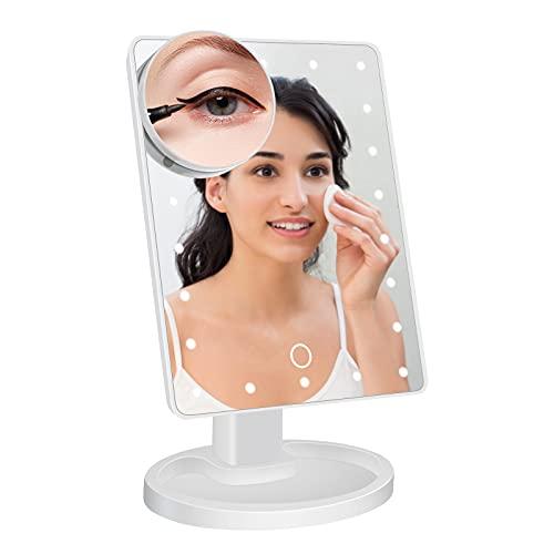 Kosmetikspiegel,95Street Schminkspiegel mit...