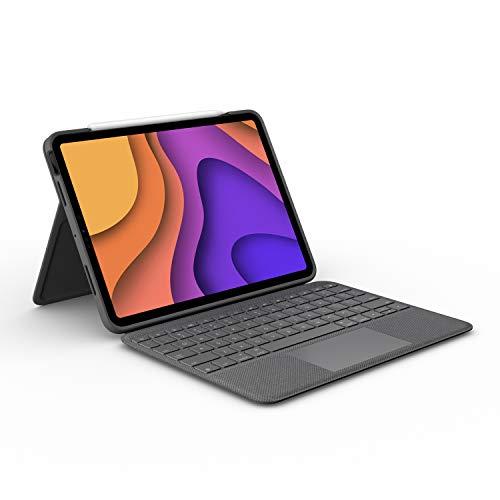 Logitech Folio Touch iPad Hülle Tastatur,...