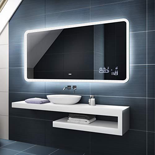 Badspiegel 100x60cm mit LED Beleuchtung - Wählen...