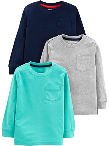 Simple Joys by Carter's 3-Pack Solid Pocket...