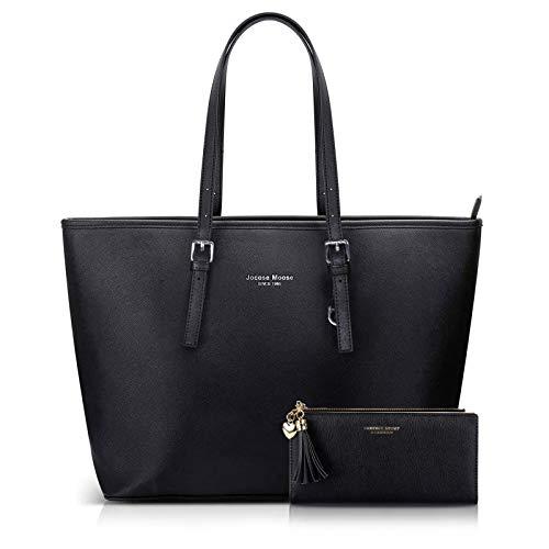 Jocose Moose Damen Handtasche Shopper Schwarz...