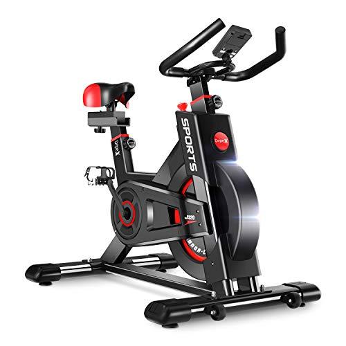 Dripex Heimtrainer, Fitnessbikes Ergometer mit...