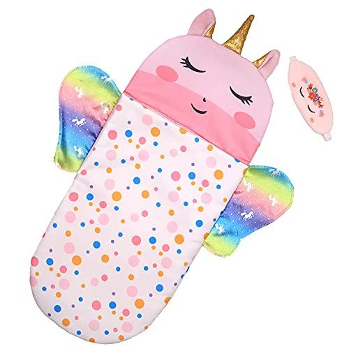 ZWOOS Puppenschlafsack mit Schlafmaske für...
