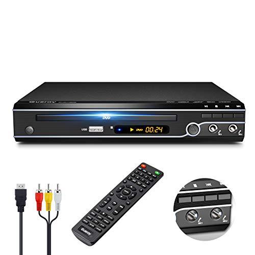 Gueray Kompakter DVD-Player Multi-Regionen Ohne...