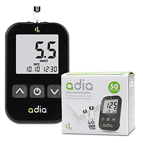 adia Diabetes-Set, Messeinheit mmol, mit 60...