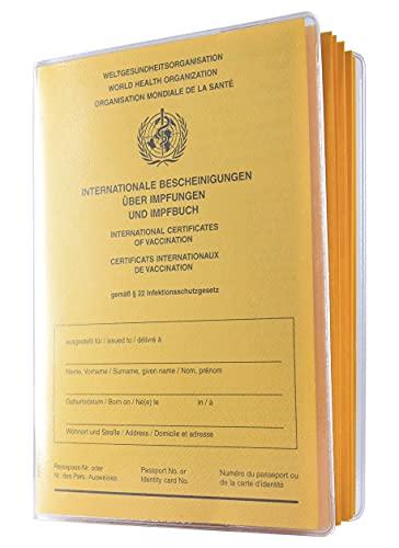 Schutzhülle für Alten Impfpass 155 x 110mm Made...