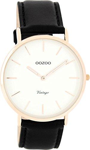 OOZOO Timepieces Herrenuhr Leder/Sonstige analog...