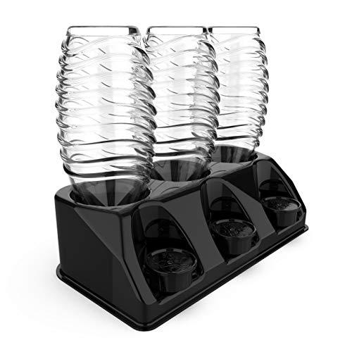 SODACLEAN Premium 3er Flaschenhalter Kunststoff...