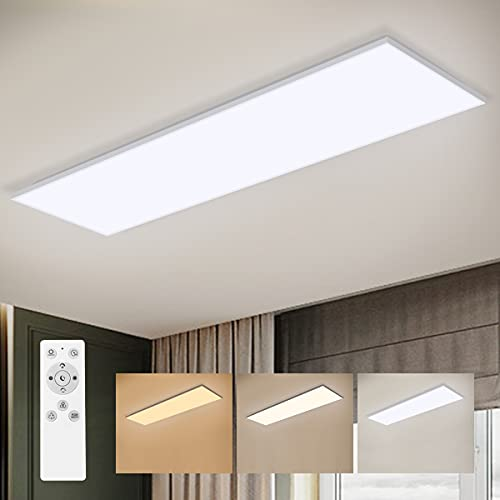 LED Panel Dimmbar mit Fernbedienung, LED...