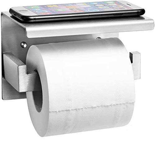 Auxmir Toilettenpapierhalter mit Ablage ohne...