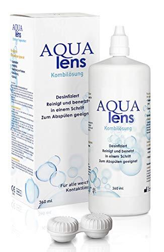 AQUA lens Kontaktlinsen Fluessigkeit (360 ml +...