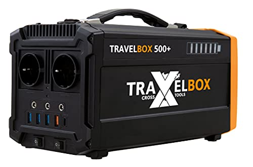 Cross TOOLS TRAVELBOX 500+, 500 W Powerstation,...