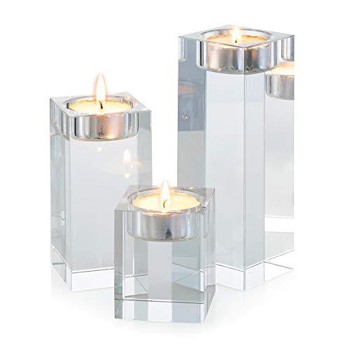 Sziqiqi 1-Set (3-teilig) hochwertige Kristall Glas...