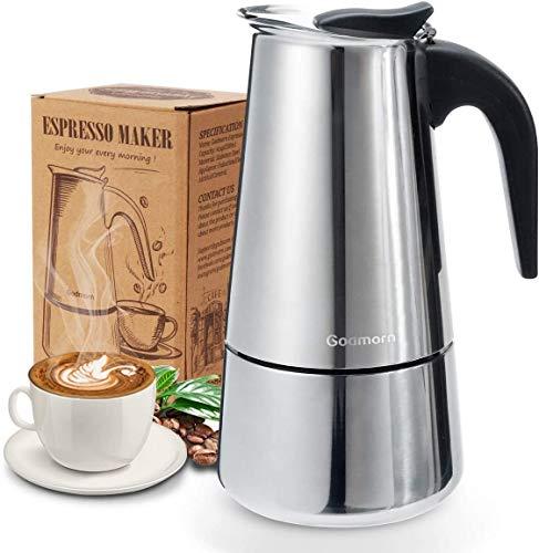 Godmorn Espressokocher, Kaffeekocher, Mokkakanne...