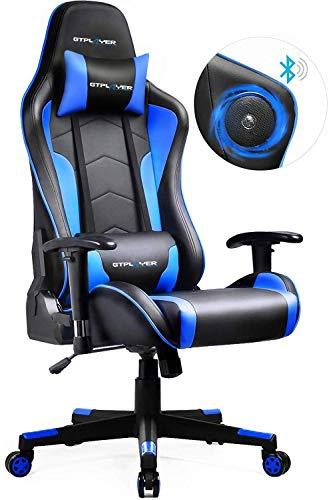 GTPLAYER Gaming Stuhl mit Lautsprecher Bürostuhl...