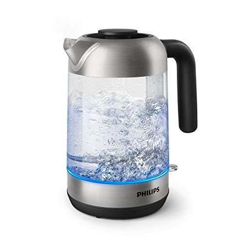 Philips HD9339/80 Wasserkocher aus Glas, 2200...