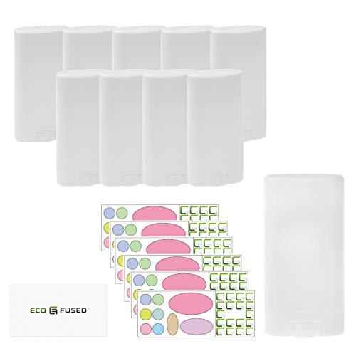 Eco-Fused 10er-Pack Deodorant-Behälter - Weiß -...