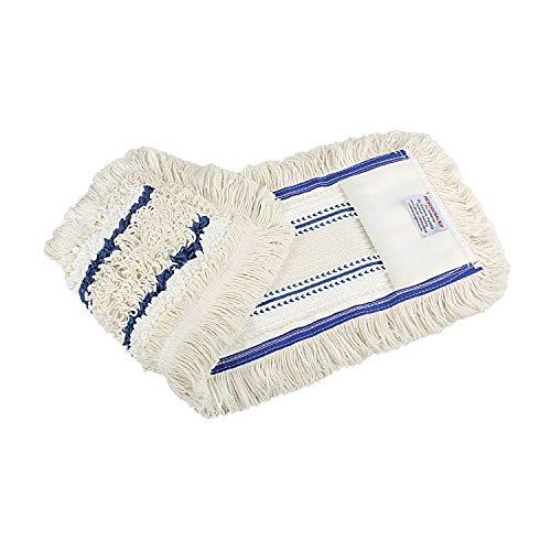 Baumwoll Wischmop 40 cm mit Mikrofaser Ersatz für...