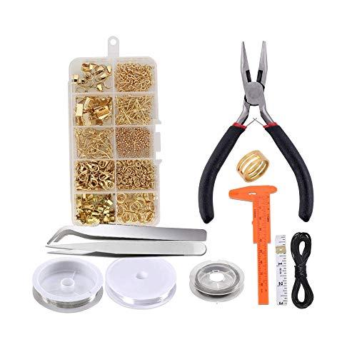 Schmuckherstellung Set, Anfänger Werkzeug Kit...