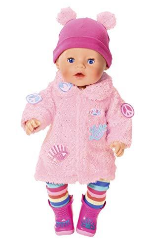 BABY born Deluxe Mantel für 43cm Puppe - Leicht...