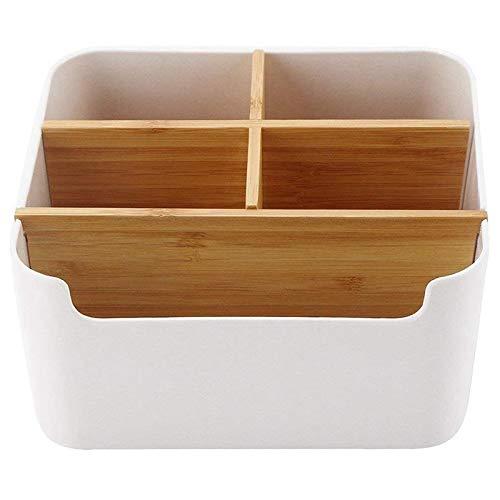Holz Desktop Stift, Schreibtisch Organizer Bambus,...