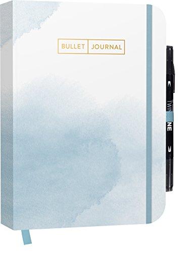 Bullet Journal 'Watercolor Blue' 05 mit original...