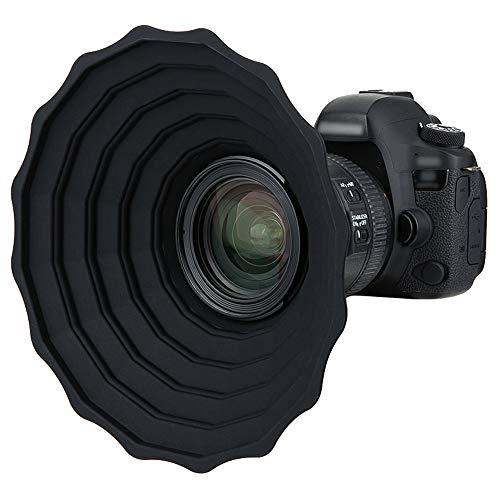 JJC Silikon Gegenlichtblende für Canon Nikon DSLR...
