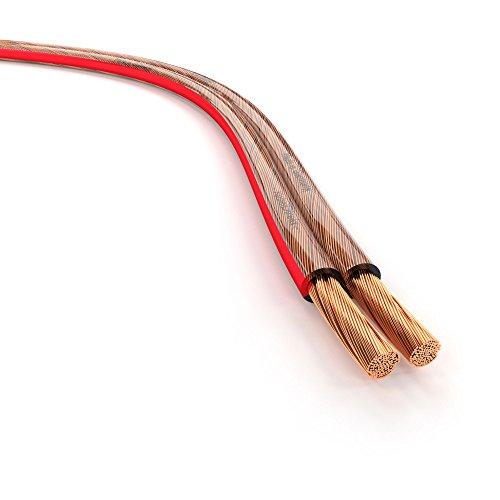 KabelDirekt – Lautsprecherkabel – Made in...