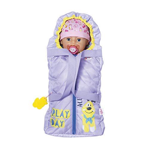 BABY born 2-in-1 Tragetasche für 43cm Puppe -...