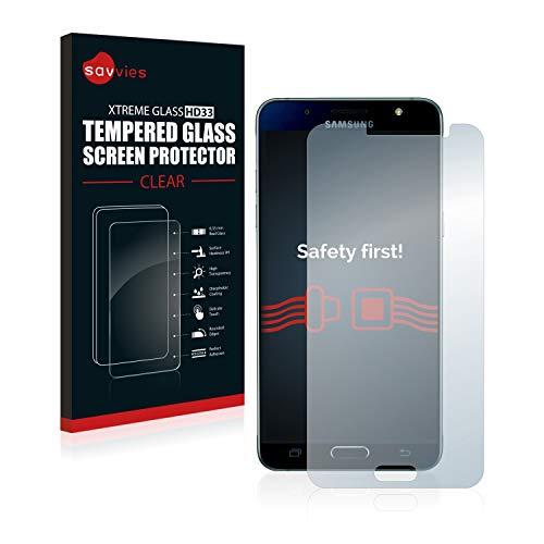 Savvies Panzerglas kompatibel mit Samsung Galaxy...