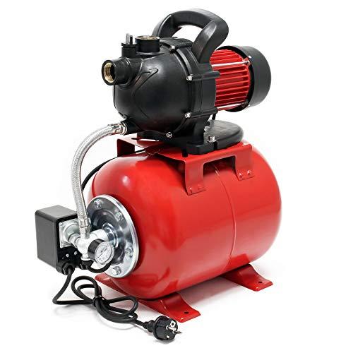 Hauswasserwerk Gartenpumpe 1000 Watt 3500 l/h mit...