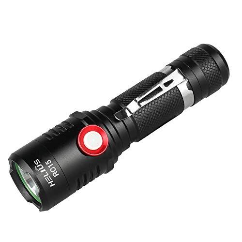LED Taschenlampe, Extrem Hell USB Aufladen...