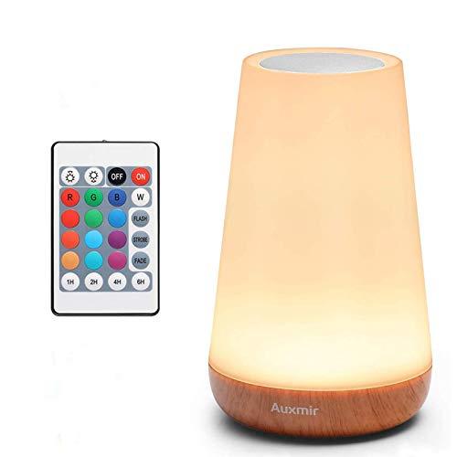 Auxmir LED Nachttischlampe, Dimmbar Atmosphäre...