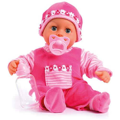 Bayer Design 93800-pink 93825AA Babypuppe First...