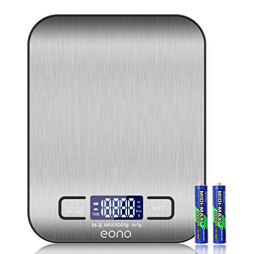 Amazon Brand – Eono Digitale Küchenwaage,...