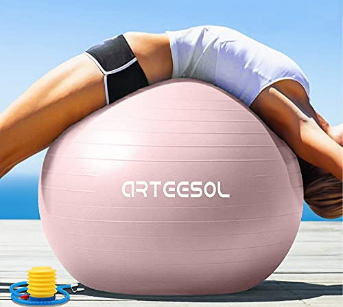 arteesol Gymnastikball Pilates Ball 45cm / 55cm /...