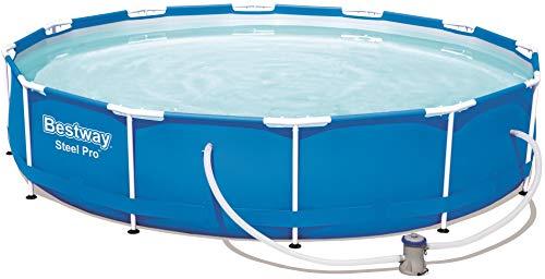 Bestway Steel Pro Frame Pool, rund 366x76 cm...
