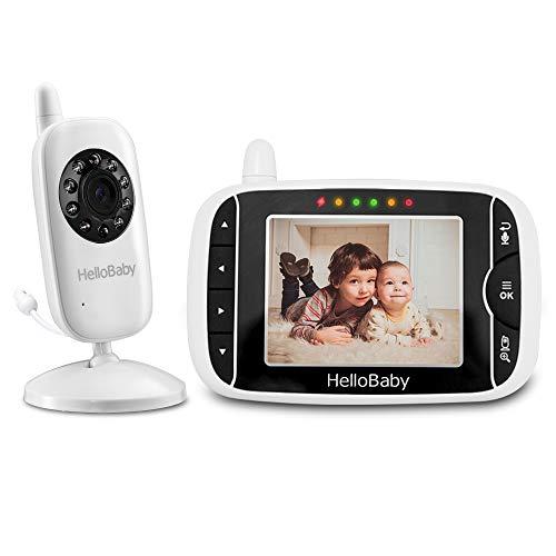 HelloBaby Babyphone mit Kamera HB32 3.2' Digital...