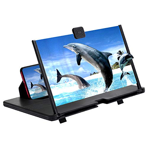 AnCoSoo 12'Bildschirmlupe - 3D Hd-Handy-Lupe...