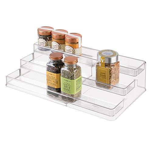 iDesign Gewürzregal mit 3 Ebenen für die Küche,...