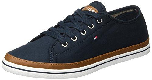 Tommy Hilfiger Damen K1285ESHA 6D Sneaker, Blau...