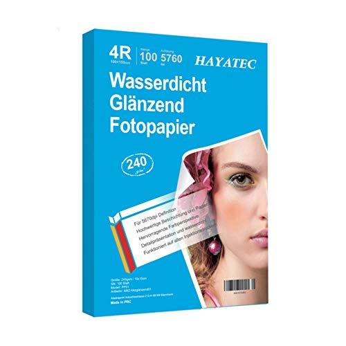 100 Blatt fotopapier 10x15 hoch glänzend...
