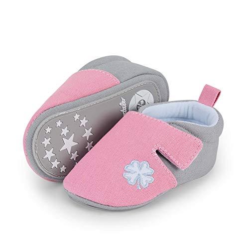 Sterntaler Baby-Krabbelschuhe für Mädchen,...