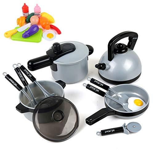 BeebeeRun Küchen Spielzeug, Topf-Set für die...