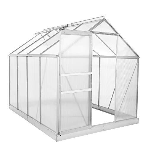 Zelsius Aluminium Gewächshaus für den Garten |...