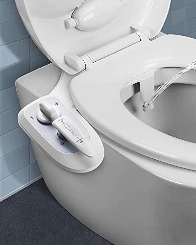 Nicht-elektrisches WC-Bidet-Zubehör, Doppeldüse...