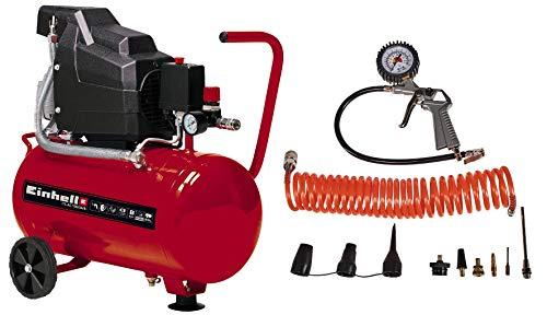 Einhell Kompressor TC-AC 190/24/8 Kit (max. 8 bar,...