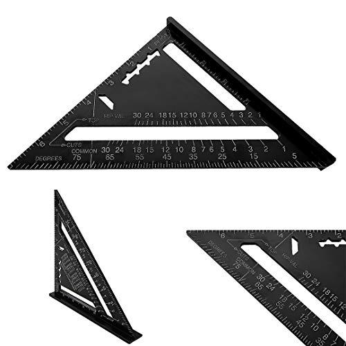 7'Quadratisches Dreieckslineal,...
